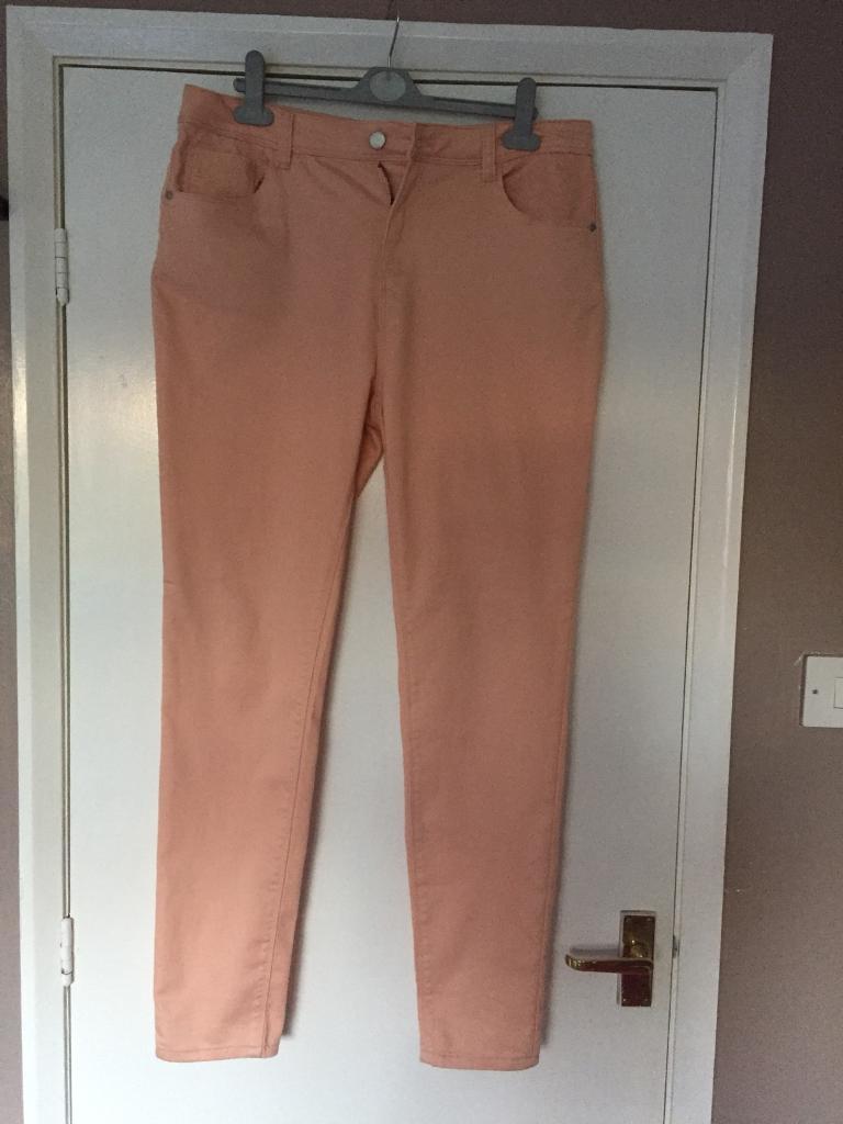 Peachy skinny jeans size 16