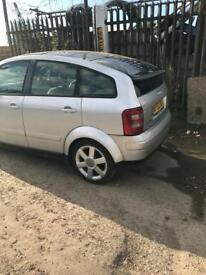 Audi a2 1.4 tdi ( breaking full vehicle for parts)