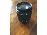 Cannon ef-s 18-55 lens only used once or twice. Good condition.