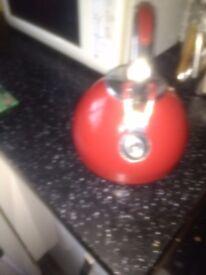Red prestige whistle kettle