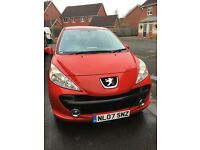 Peugeot 207 1.4S low milage and full service history