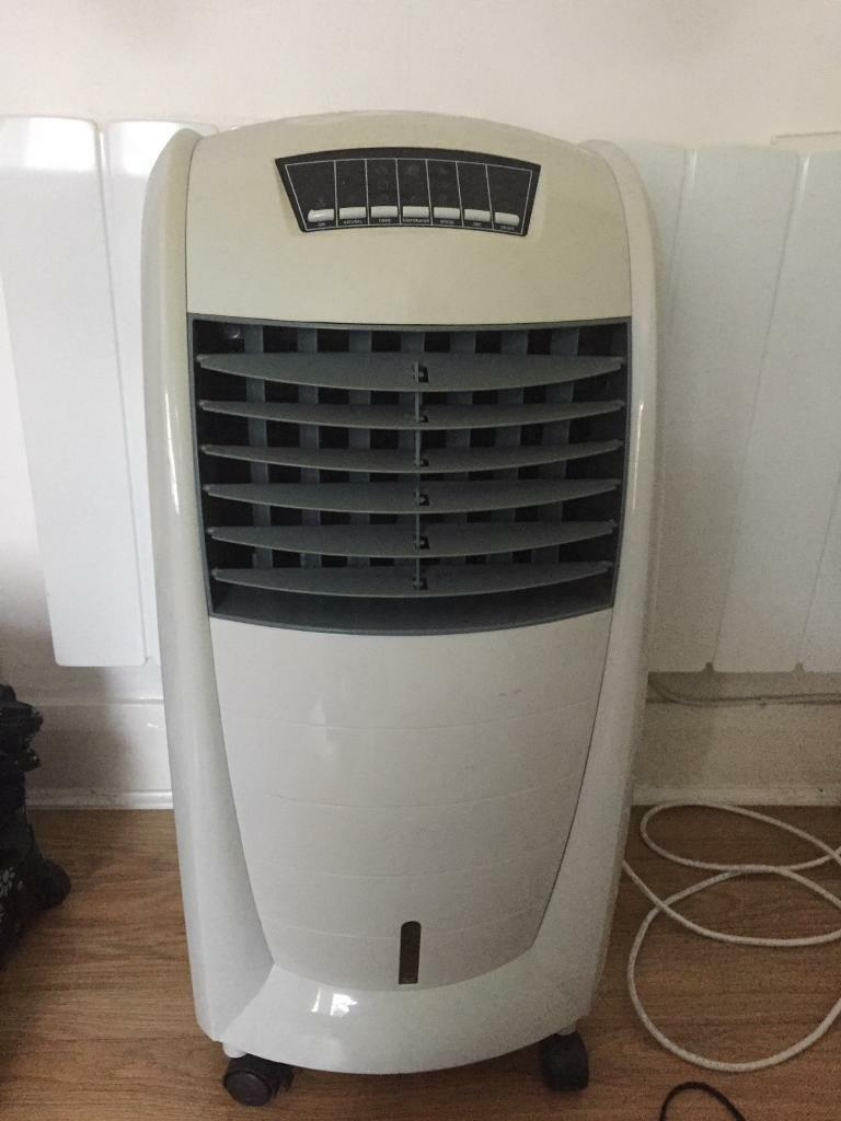Portable HOMEBASE air conditioning unit cooler