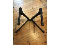Ultimate Support V-Stand Pro Keyboard Stand + Second Tier