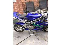 Mini moto race tuned blater