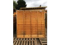 New fence panels low prices