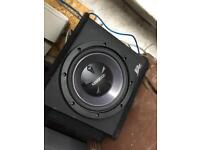 Kenwood Sub Woofer And Amp DELIVERY AVAILABLE