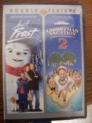 Double Feature DVD Jack Frost and Lampoons Christmas Vacation 2 Sealed WB for sale  Bristol