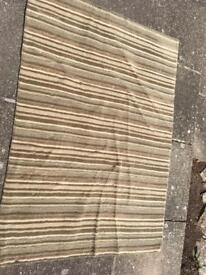 B and Q rug