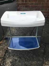 BioPro 50L Gloss White fish tank