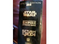 Star Wars Trilogy Video tapes - boxed set Special Edition
