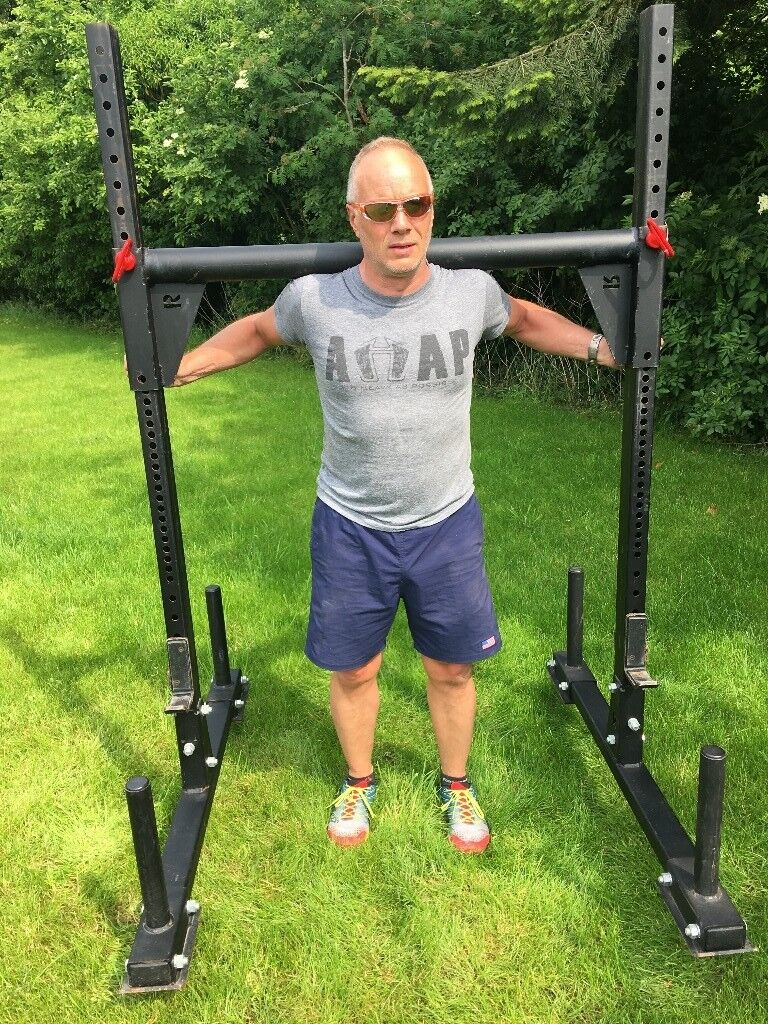 Genuine rogue fitness y yoke the ultimate garage gym in