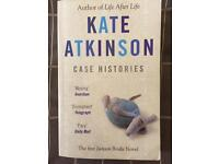 Kate Atkinson case histories on book