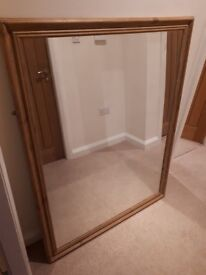 Large mirror 134x104cm