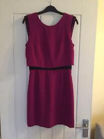 Magenta Pink Warehouse Dress size 10