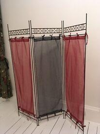 folding boudoir screen or room divider