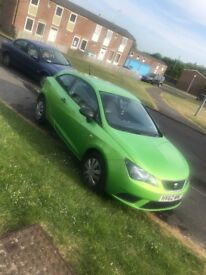 GREEN SEAT IBIZA! Very practical car and good on fuel MOT till 07/11/2018