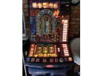 Games machine ideal money box