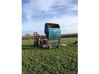 Paddock sweeper, poo picker manure collector