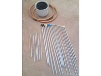Reduced Price - Knitting Needles, Crochet Needles, Embroidery Frames, Containers