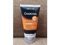 Creightons charcoal deep cleansing facial scrub