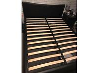 King size bed with 4 drawers £120 free memory foam