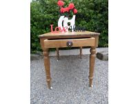 Stunning Reclaimed Victorian Vintage Rustic Farmhouse Pine Table - Uk Delivery