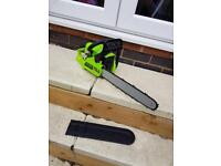 "LTS UK 16"" chain saw"