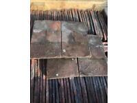 100,000 reclaimed clay handmade roof tiles