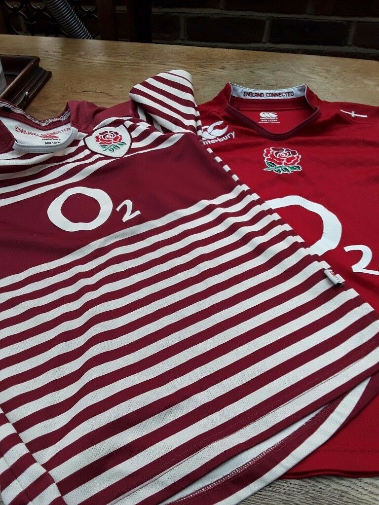 2 england rugby tops 10 yrs and 12 yrs