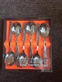 Valiant desert spoons