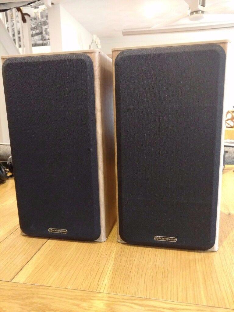 Monitor Audio Bronze BX2 Bookshelf Speakers Oak