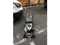 ATCO petroleum lawnmower bought as a back up and hardly used