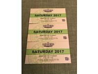 3 x Goodwood Revival tickets for Saturday 9th September SOLD OUT admission ticket