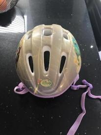 Girls Disney Fairies Bike Helmet
