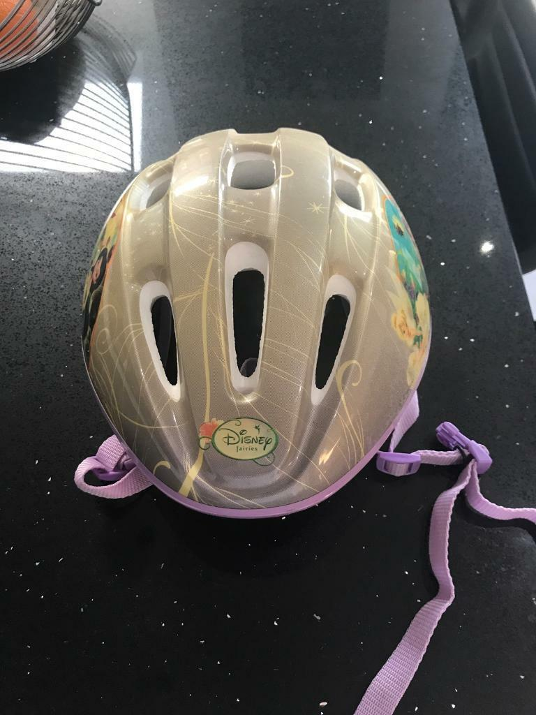 Girls Disney Fairies Bike Helmet