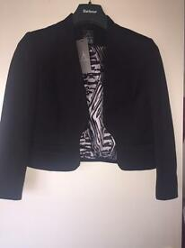 Black jacket bnwt size 12