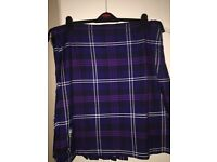 Tartan Kilt Heritage of Scotland Ghillie Outfit with all accessories