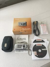 Canon PowerShot A470 Digital camera in original box mint condition