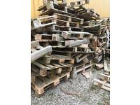 Free pallet firewood - collection only
