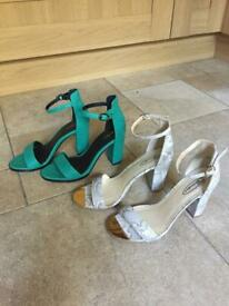 2 Pair Of Ladies Shoes - (UNWORN)