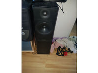 Large mordaunt short Stereo HIFI Speakers 3.50