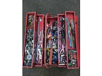 tool box with lot tools
