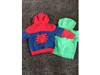Boys hoodies aged 4-5