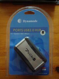 *** Computer - Dynamode Port USB 2.0 Hub – High speed 480 Mbps ***