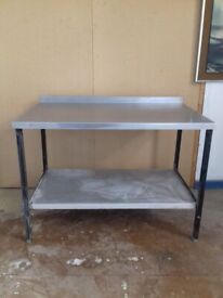 Stainless Steel Catering table (READ DESCRIPTION)