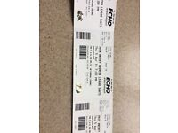 4 Premier League Darts table Tickets - 5th April Echo Arena Liverpool