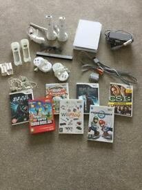 SOLD **** Nintendo Wii bundle incl. games and controls