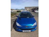 PEUGEOT 206 SPORT 5 DOOR HATCH 05,78K FULL YEAR TEST