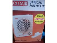 Decent 2000W Goldair Upright Fan Cooler / Heater with instruction for £9, Morden, Central London