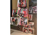 Various Manchester United Programmes
